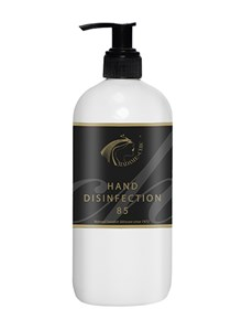 HAND DISINFECTION 85 % 500 ml